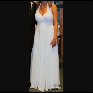 Dresses & Skirts - White Halter Dress